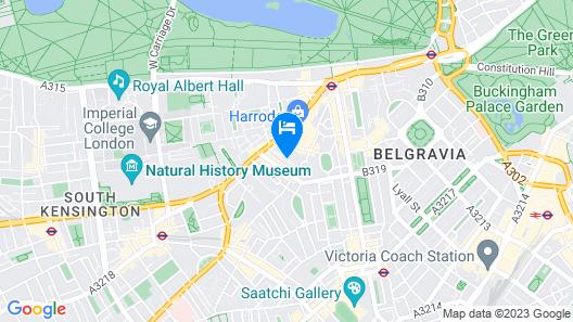 Beaufort Hotel Map