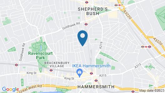 Lamington Apartments Map