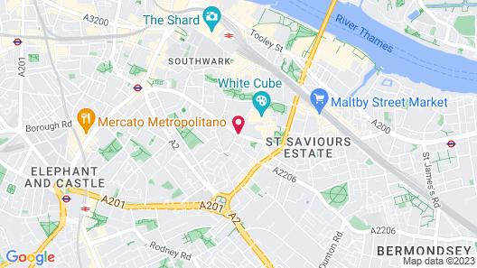 Residence Inn by Marriott London Bridge Map