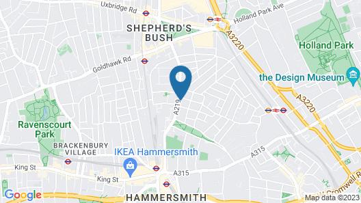 Hellenic Hotel London by Saba Map