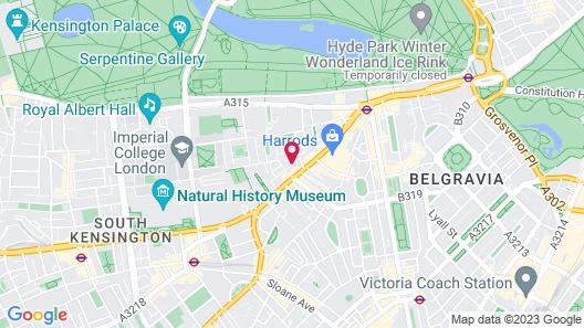 Cheval Knightsbridge Map