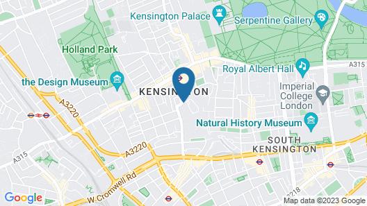Holiday Inn London - Kensington High St., an IHG Hotel Map