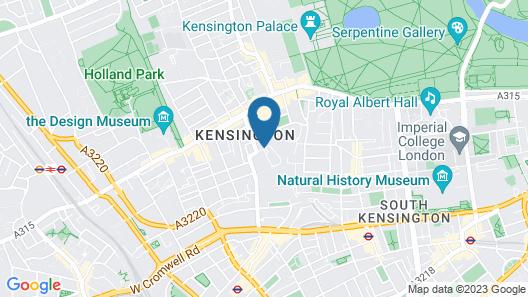 Copthorne Tara Hotel London Kensington Map