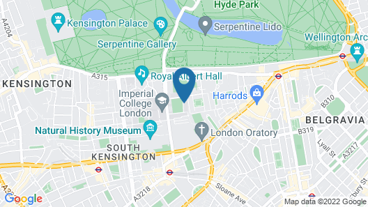 Prince's Gardens (Campus Accommodation) Map