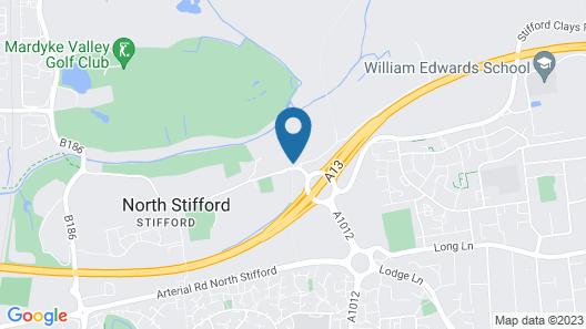 Stifford Hall Hotel Thurrock Map