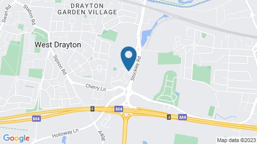 Crowne Plaza London - Heathrow Map