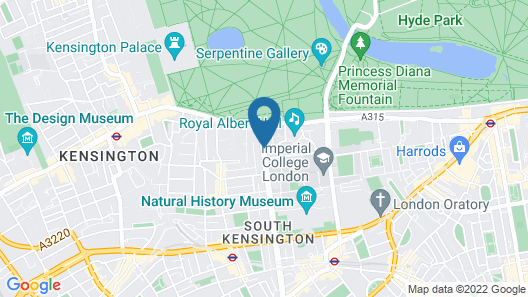 The Gore London – Starhotels Collezione Map