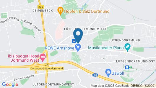 Hotel Specht Map