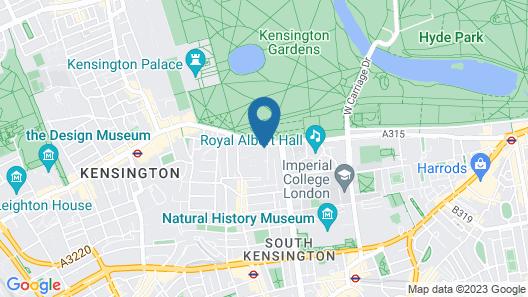 Hyde Park Gate Hotel Map