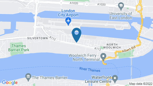 London City Airport Hotel Map