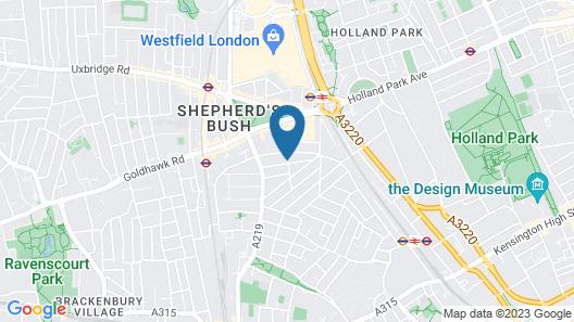 ibis London Shepherds Bush – Hammersmith Map