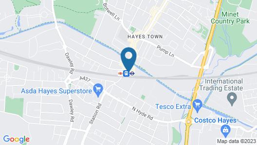 Staycity Aparthotels London Heathrow Map
