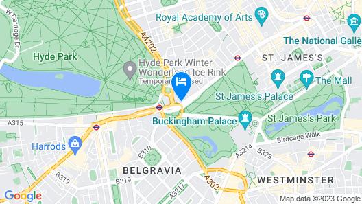 InterContinental London Park Lane Map