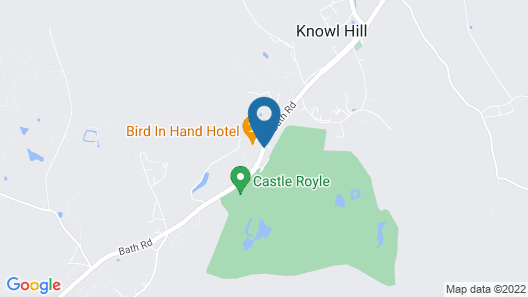 The Bird In Hand Map
