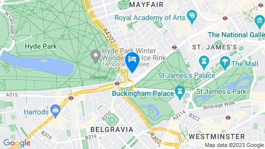 Four Seasons Hotel London at Park Lane Map