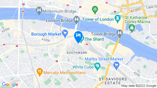 Shangri-La The Shard, London Map