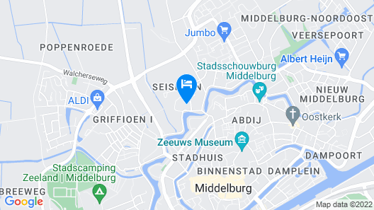 Rijksmonument Hotel de Sprenck Map