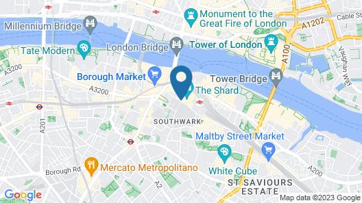Shangri La Hotel At The Shard London Map