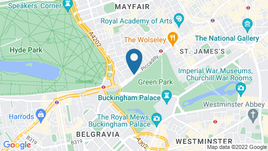 The Athenaeum Hotel & Residences Map