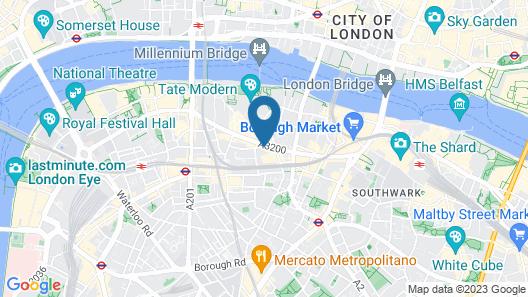 citizenM London Bankside Map
