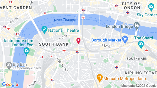 ibis London Blackfriars Map