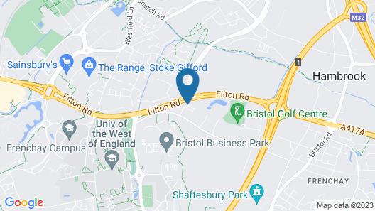 Holiday Inn Bristol-Filton Map