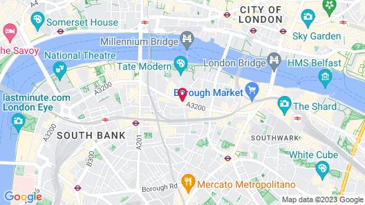 Mercure London Bridge Map