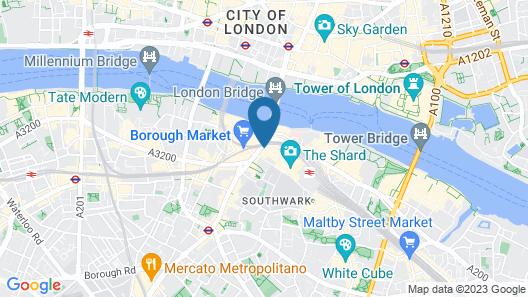 London Bridge Hotel Map