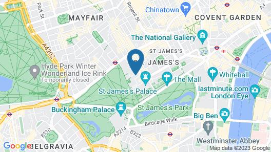 Dukes London Map