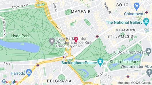 Park Lane Mews Hotel Map