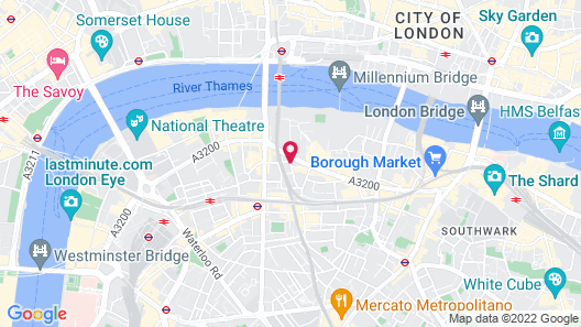 Holiday Inn Express London - Southwark Map