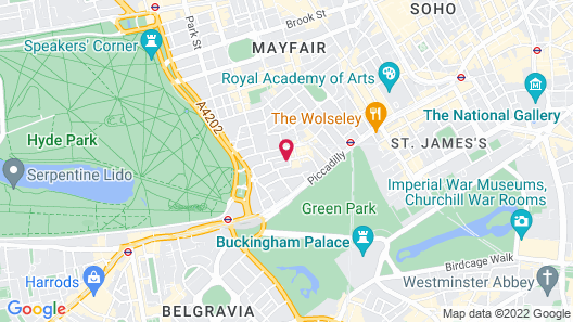 Mayfair House Map