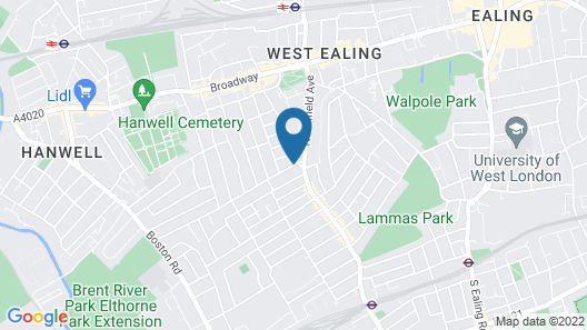 The Forester Ealing Map