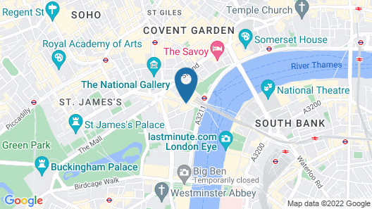 Corinthia London Map