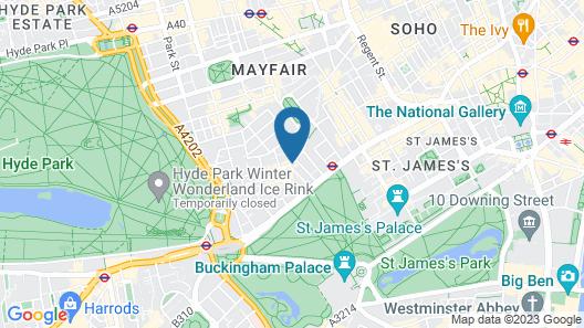 Washington Mayfair Hotel Map