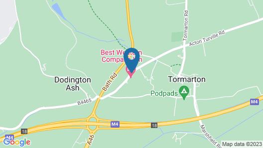 Best Western Compass Inn Map