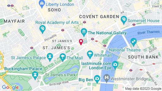The Trafalgar St. James London, Curio Collection by Hilton Map