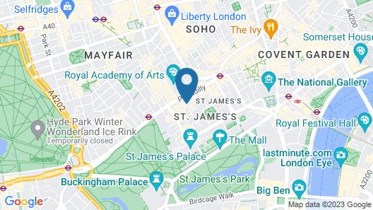 The Cavendish London Map
