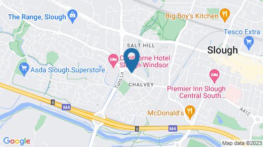 Holiday Inn Slough - Windsor Map