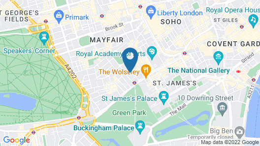 The May Fair, A Radisson Collection Hotel Map