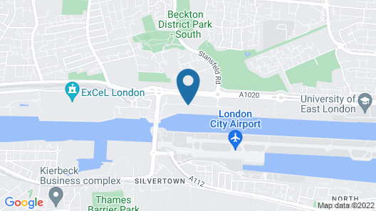 Holiday Inn Express London - ExCeL Map