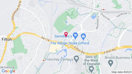 Holiday Inn Express Bristol - Filton Map