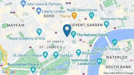 Thistle Trafalgar Square Map