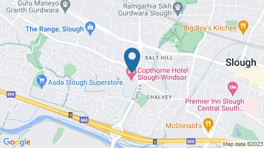 Copthorne Hotel Slough Windsor Map