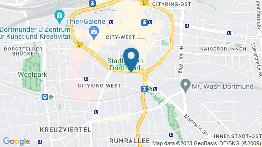 Limehome Dortmund Südwall Map