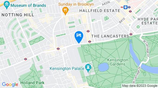 DoubleTree by Hilton Hotel London - Hyde Park Map