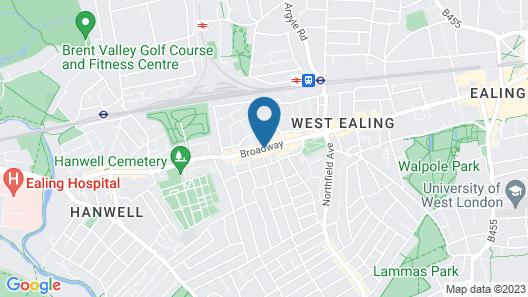 Holiday Inn Express London - Ealing Map