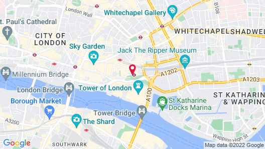 citizenM Tower of London Map