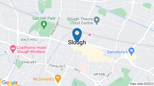 Moxy Slough Map