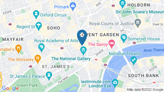 Assembly House Hotel Map